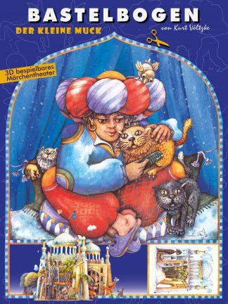 Der kleine Muck Bastelbogen Märchen 1001 Nacht Hauff Basteln Kinder schneiden lernen