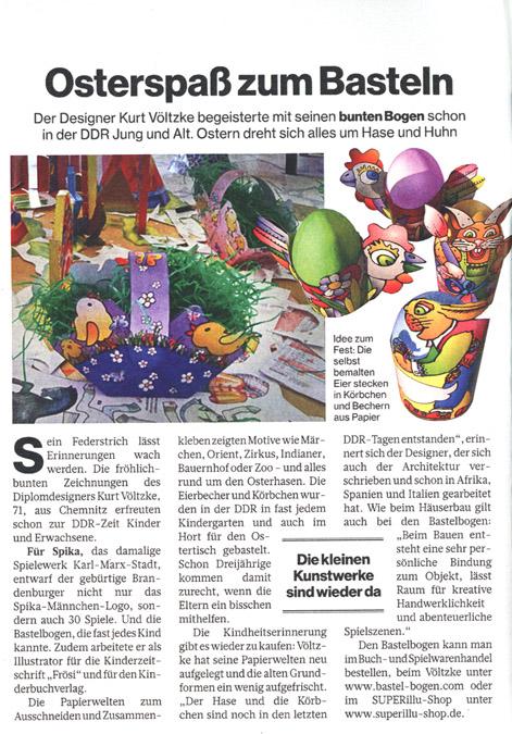 Zeitungsartikel SuperIllu