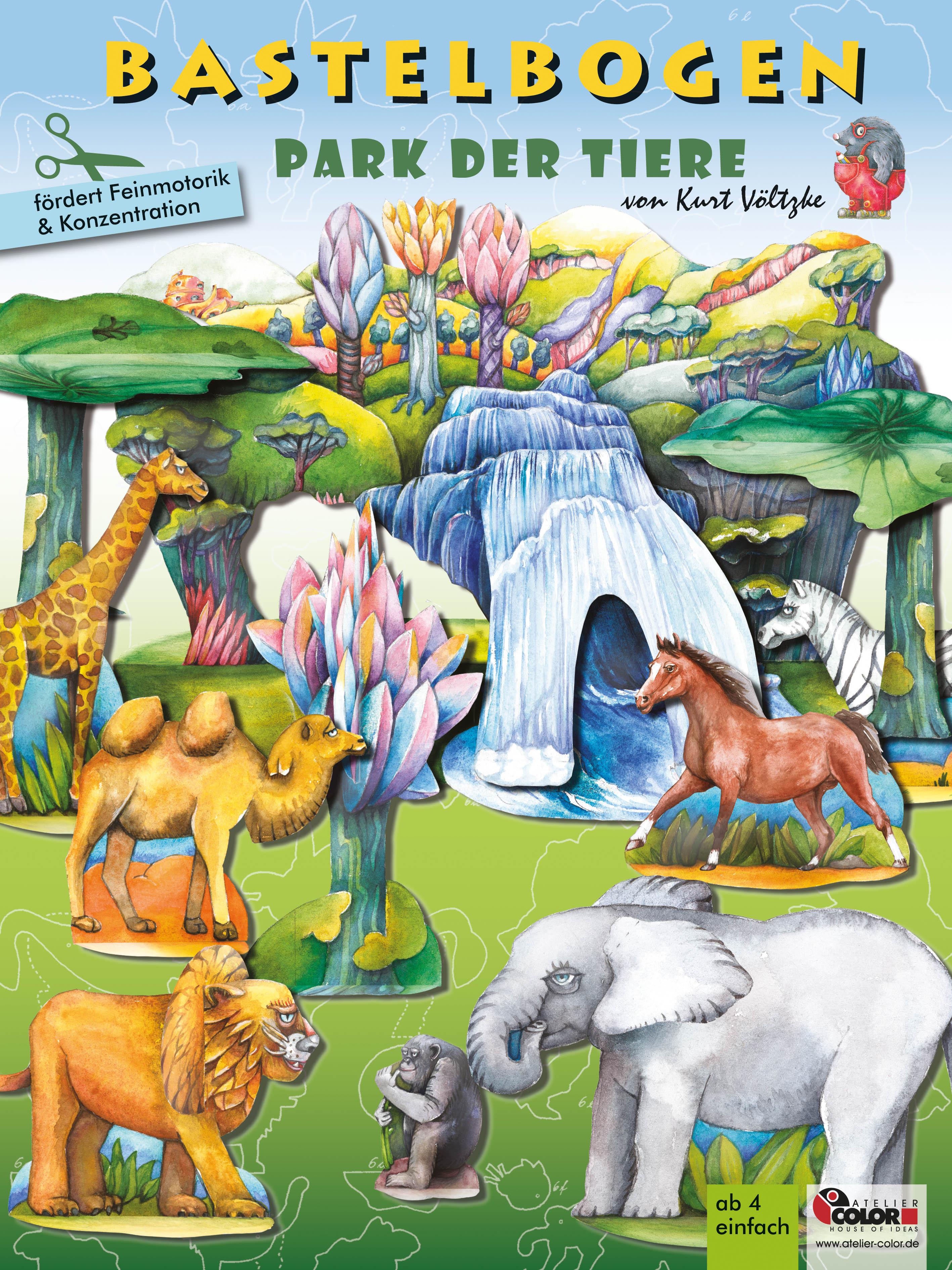 Park der Tiere Bastelbogen kaufen